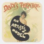 Daly's Theatre Stickers
