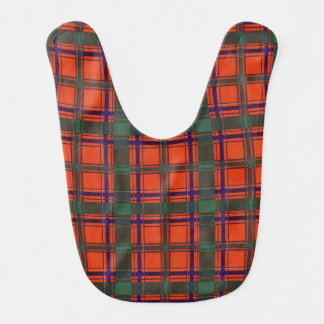 Dalzell clan Plaid Scottish tartan Bib