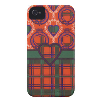 Dalzell Scottish clan tartan - Plaid iPhone 4 Cover