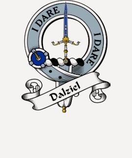 Dalziel Clan Badge T Shirts