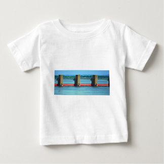 dam across upper mississippi infant t-shirt