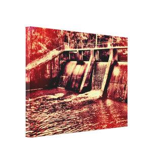 Dam Gallery Wrap Canvas