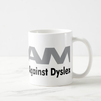 DAM ~ Mothers Against Dyslexia Classic White Coffee Mug