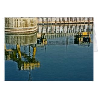 Dam Reflections! (2) Card