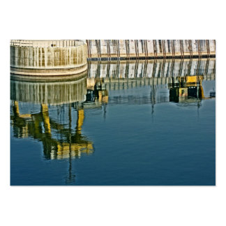 Dam Reflections! (2) Large Business Card