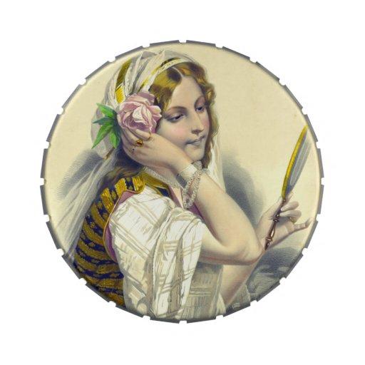 Dama Camélias aux. 1850 del La
