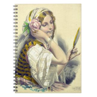 Dama Camélias aux. 1850 del La Notebook