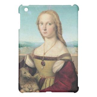 dama col liocorno by Raffaello Sanzio da Urbino iPad Mini Cover