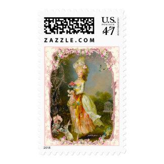 Dama Confections de la belleza del la de Pascua Sellos Postales