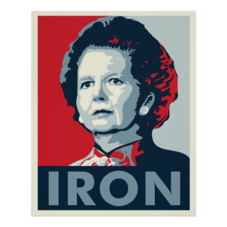 Dama de hierro póster