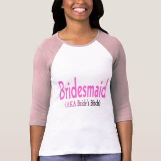 Dama de honor (AKA) Camiseta