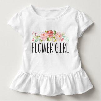 Dama de honor de la camiseta el   del niño del