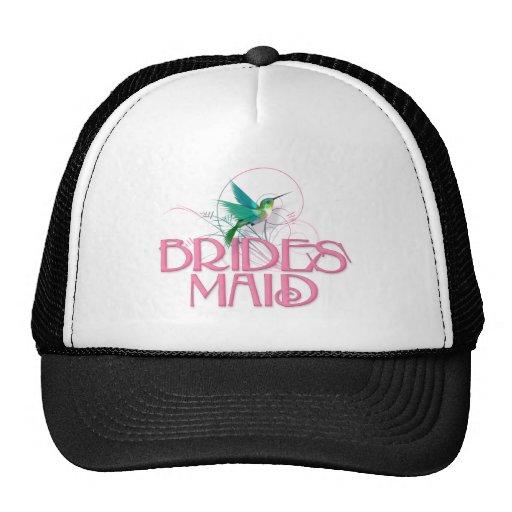 Dama de honor del colibrí gorras