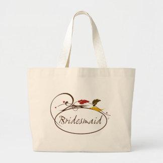 Dama de honor del otoño bolsas de mano