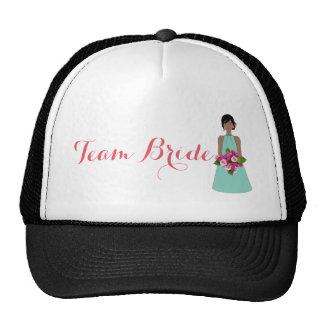 Dama de honor gorras