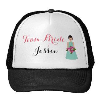 Dama de honor gorras de camionero