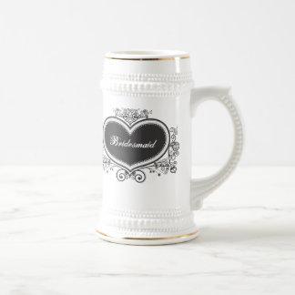 Dama de honor jarra de cerveza