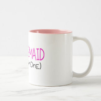 Dama de honor la tonta taza de café