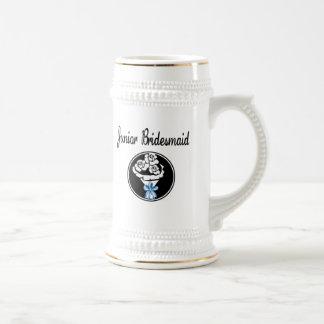 Dama de honor menor jarra de cerveza