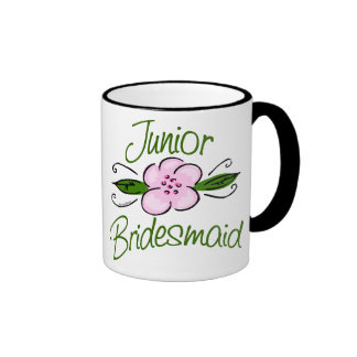 Dama de honor menor taza de café