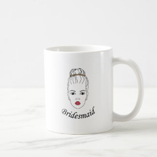 Dama de honor taza clásica