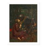Dama Sans Merci, 1893 de la belleza del La (aceite Postales
