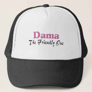 Dama The Friendly One Trucker Hat