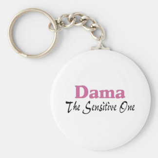 Dama The Sensitive One Keychain