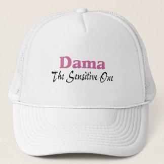 Dama The Sensitive One Trucker Hat