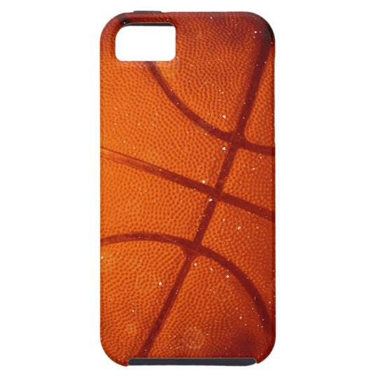 Damaged Basketball Photo iPhone SE/5/5s Case