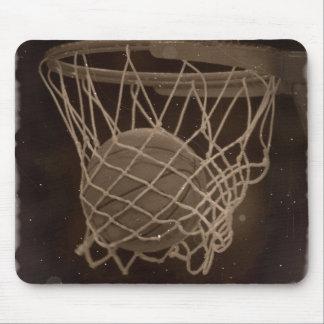 Damaged Basketball Photo Mouse Pad