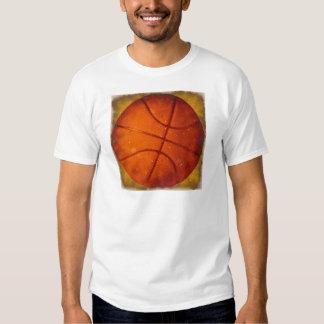 Damaged Basketball Photo Shirt