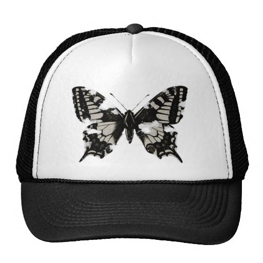 Damaged Butterfly Hat