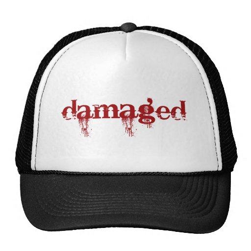 Damaged Trucker Hat