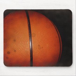 Damaged Photo Effect Basketball Mouse Pad
