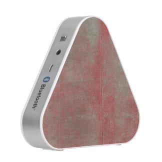 Damaged Red Pattern Grungy Background Bluetooth Speaker