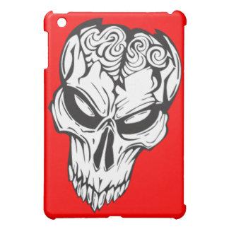 Damaged Skull Brains iPad Mini Covers