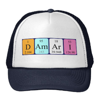 Damari periodic table name hat