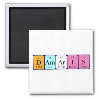 Damaris periodic table name magnet