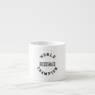Damas de honor retras frescas: Dama de honor del c Taza Espresso