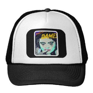 Damas oscuras Trucker Hat de la ciudad Gorras