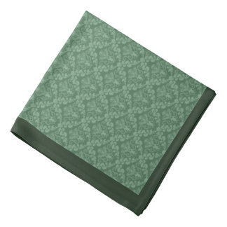 Damasco 1 de la verde salvia - pañuelo bandana