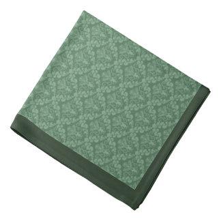 Damasco 1 de la verde salvia - pañuelo bandanas