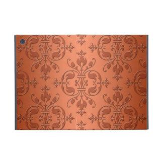 Damasco anaranjado de cobre de dos tonos iPad mini protectores