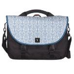 Damasco azul bolsa para ordenador