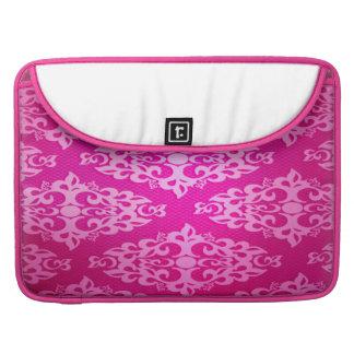 "Damasco blanco rosado MacBook Pro 13"" /15"" manga Fundas Para Macbook Pro"