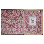 Damasco Borgoña del vintage iPad Fundas