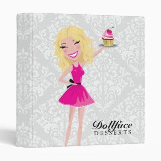 Damasco de Blondie de 311 postres de Dollface