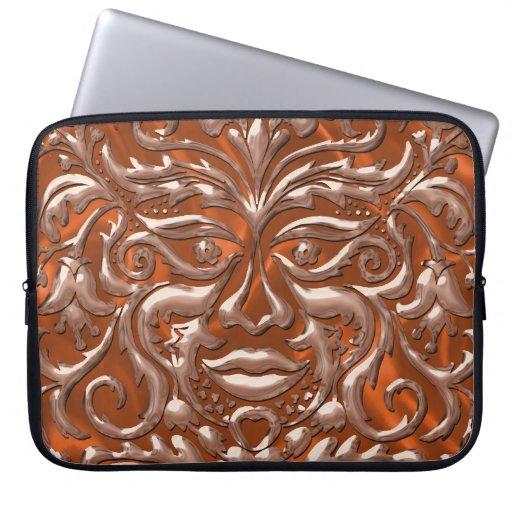 damasco de cobre líquido de 3D GreenMan en el saté Manga Portátil