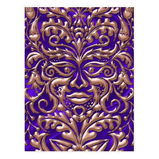 damasco de cobre líquido de 3D GreenMan en el Postal